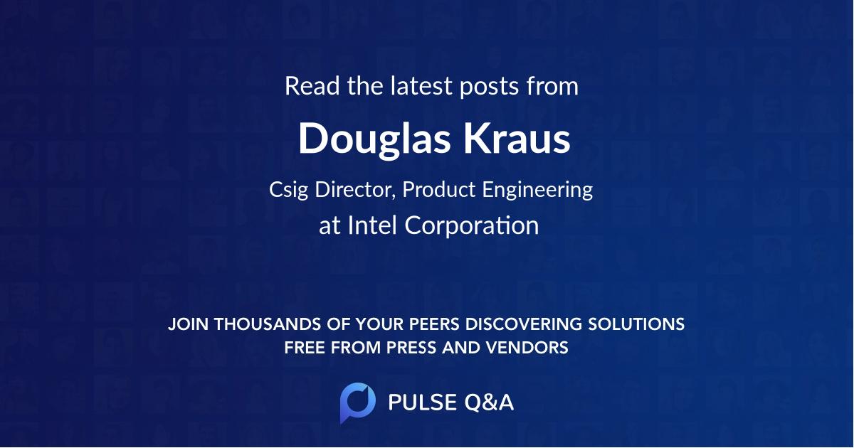 Douglas Kraus