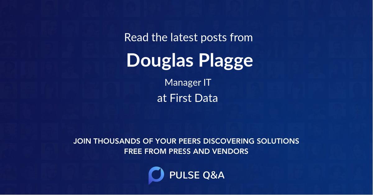 Douglas Plagge
