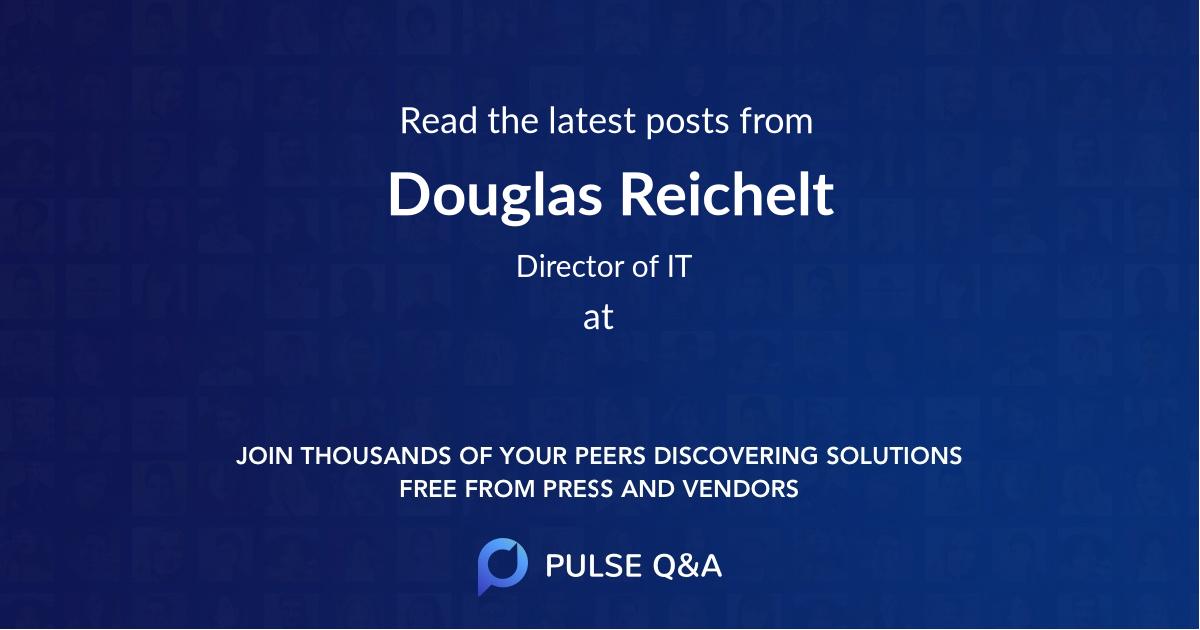 Douglas Reichelt