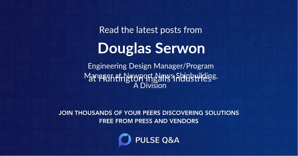 Douglas Serwon