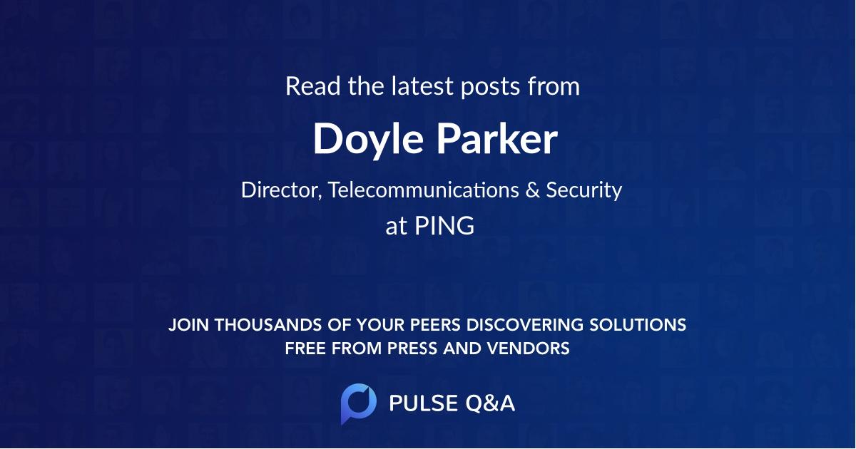 Doyle Parker