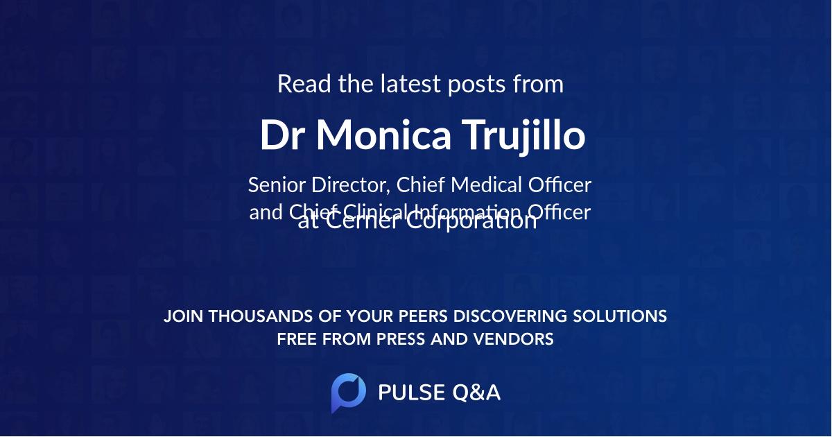 Dr Monica Trujillo