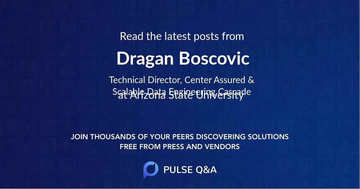 Dragan Boscovic