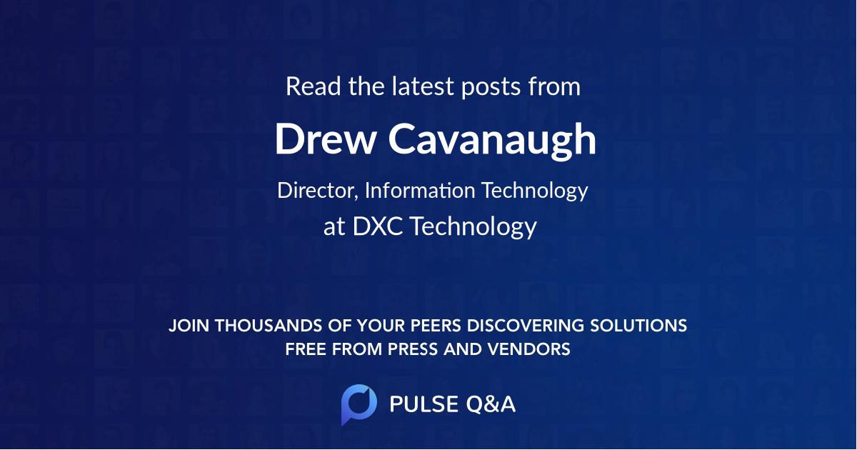 Drew Cavanaugh