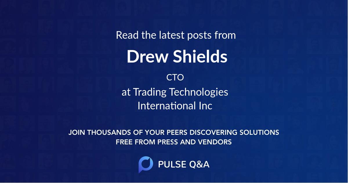 Drew Shields