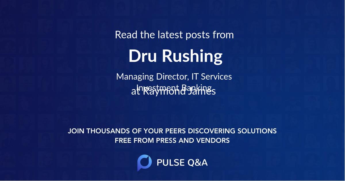 Dru Rushing