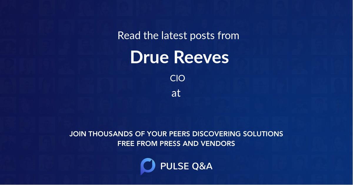 Drue Reeves