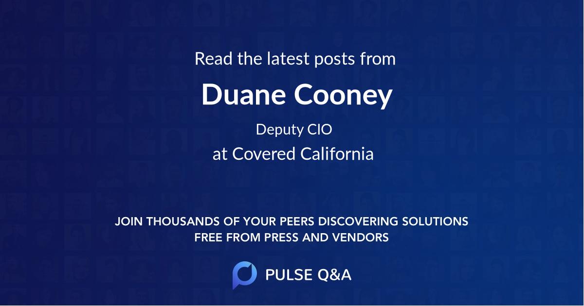 Duane Cooney