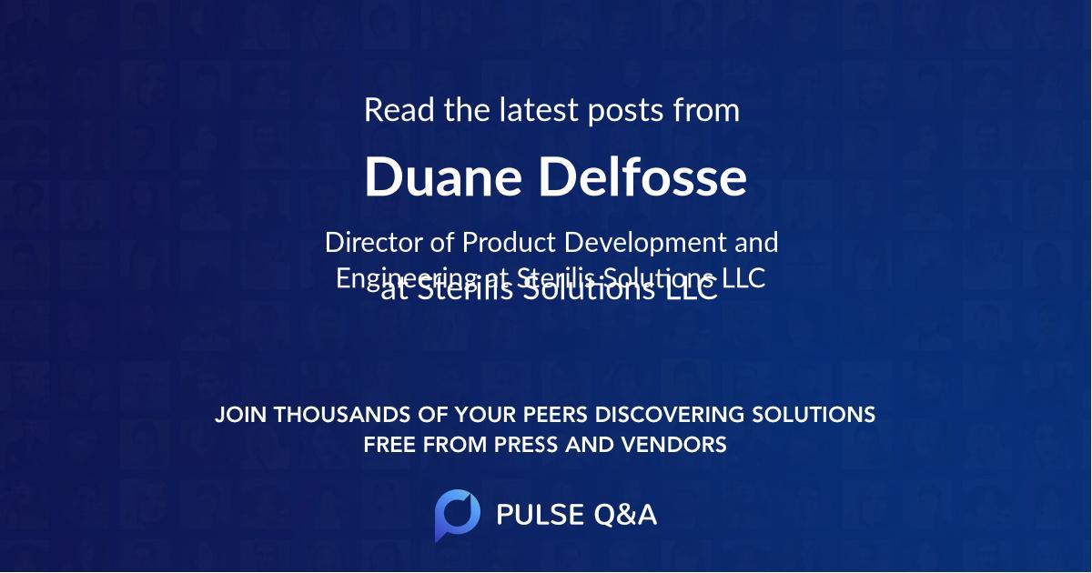 Duane Delfosse