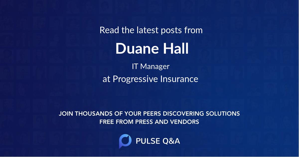 Duane Hall