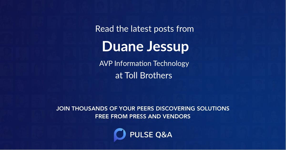 Duane Jessup