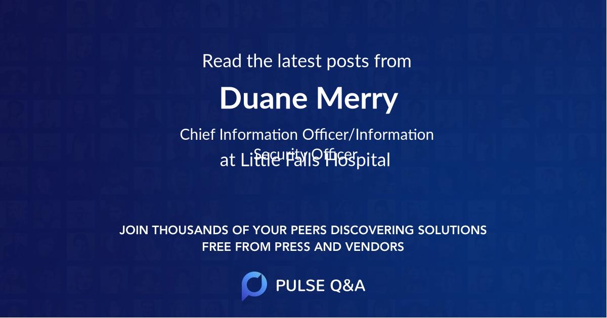 Duane Merry