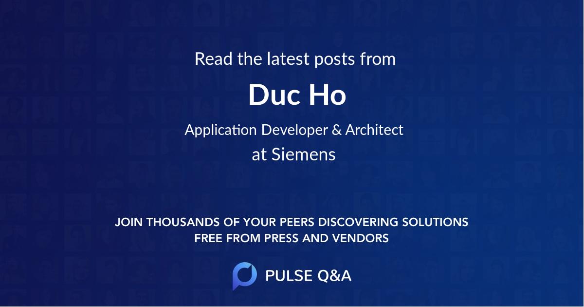 Duc Ho