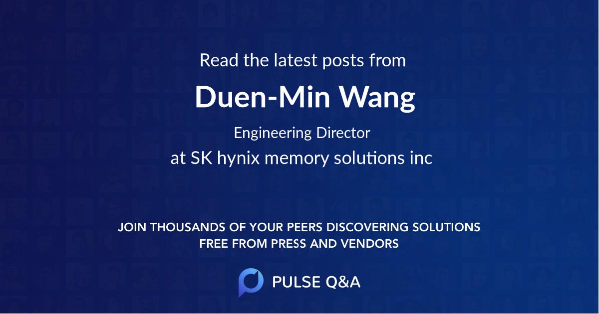 Duen-Min Wang