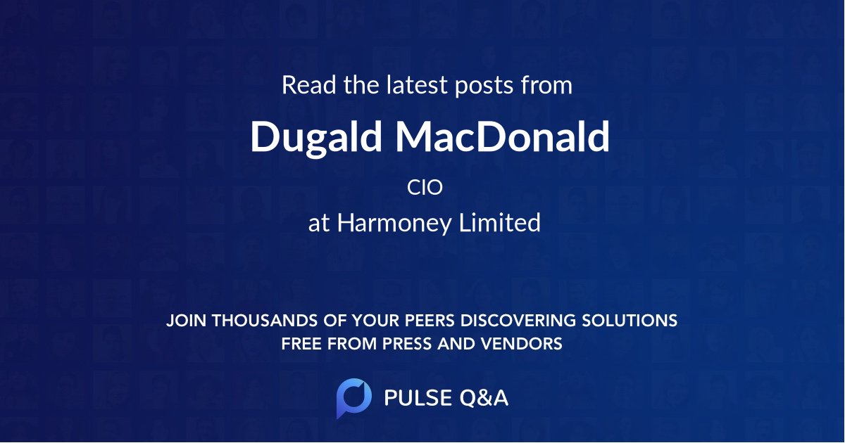 Dugald MacDonald
