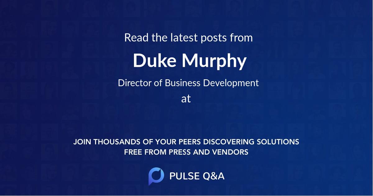Duke Murphy