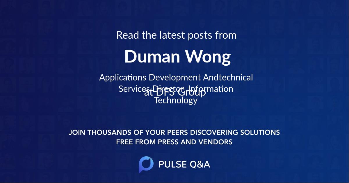Duman Wong