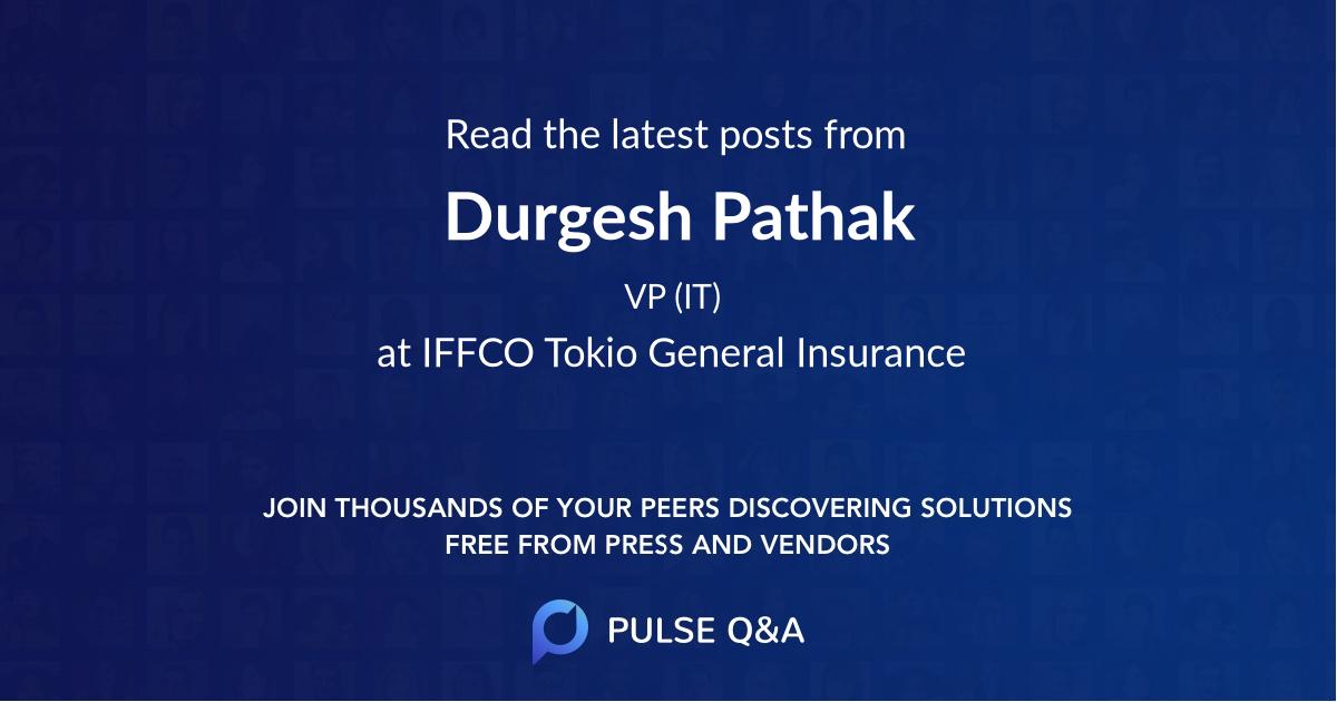 Durgesh Pathak