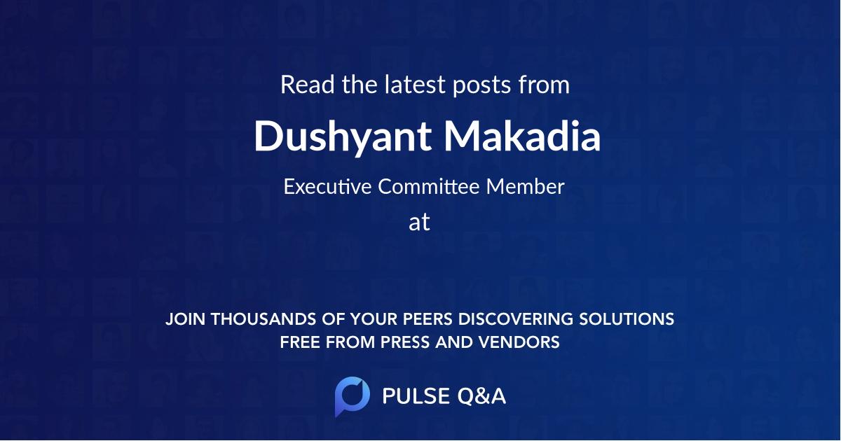 Dushyant Makadia