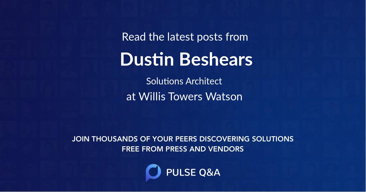 Dustin Beshears