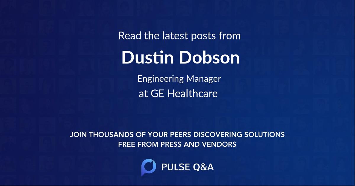 Dustin Dobson