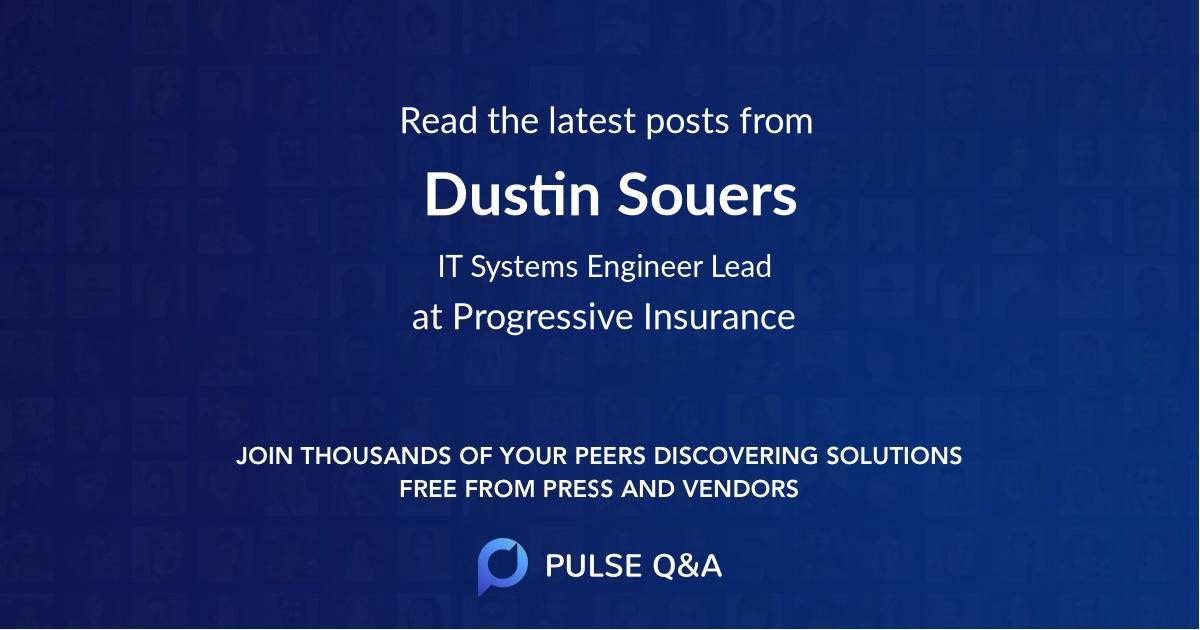 Dustin Souers