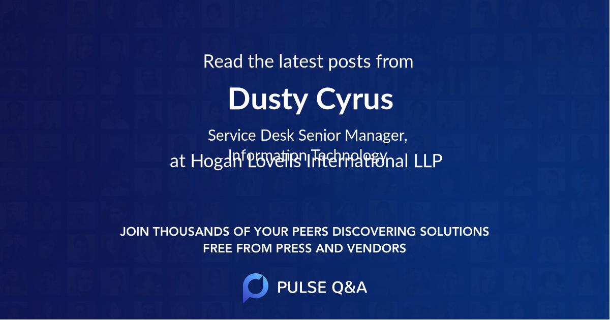 Dusty Cyrus