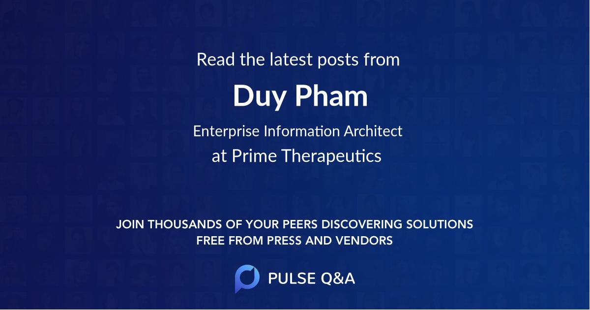 Duy Pham
