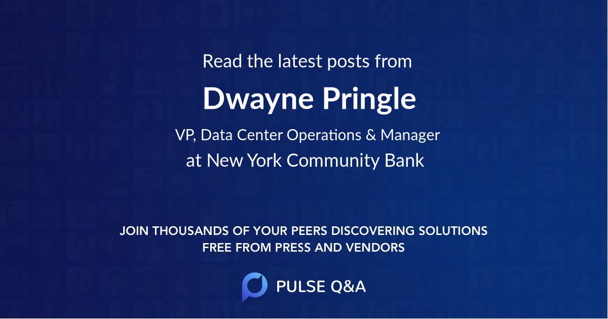 Dwayne Pringle