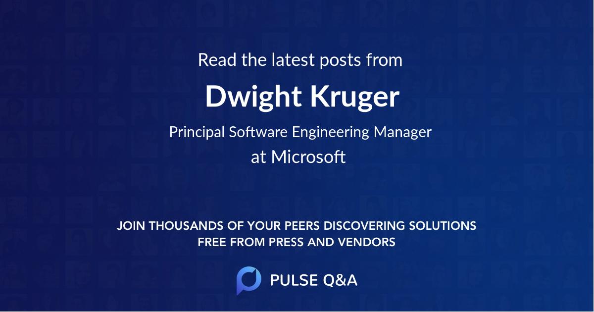 Dwight Kruger