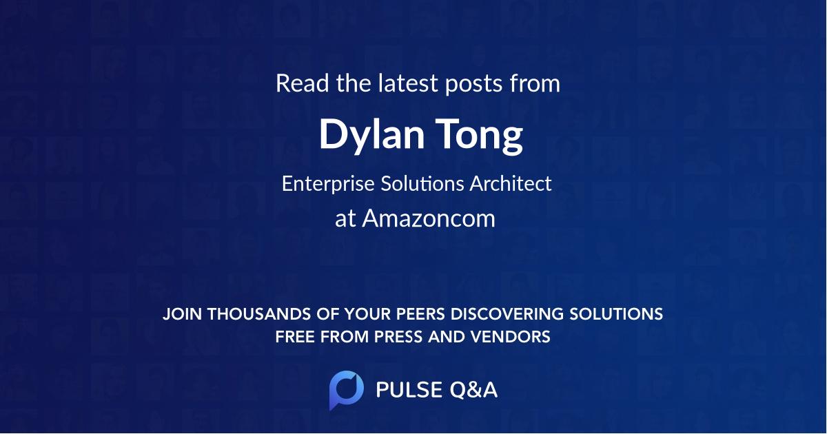 Dylan Tong