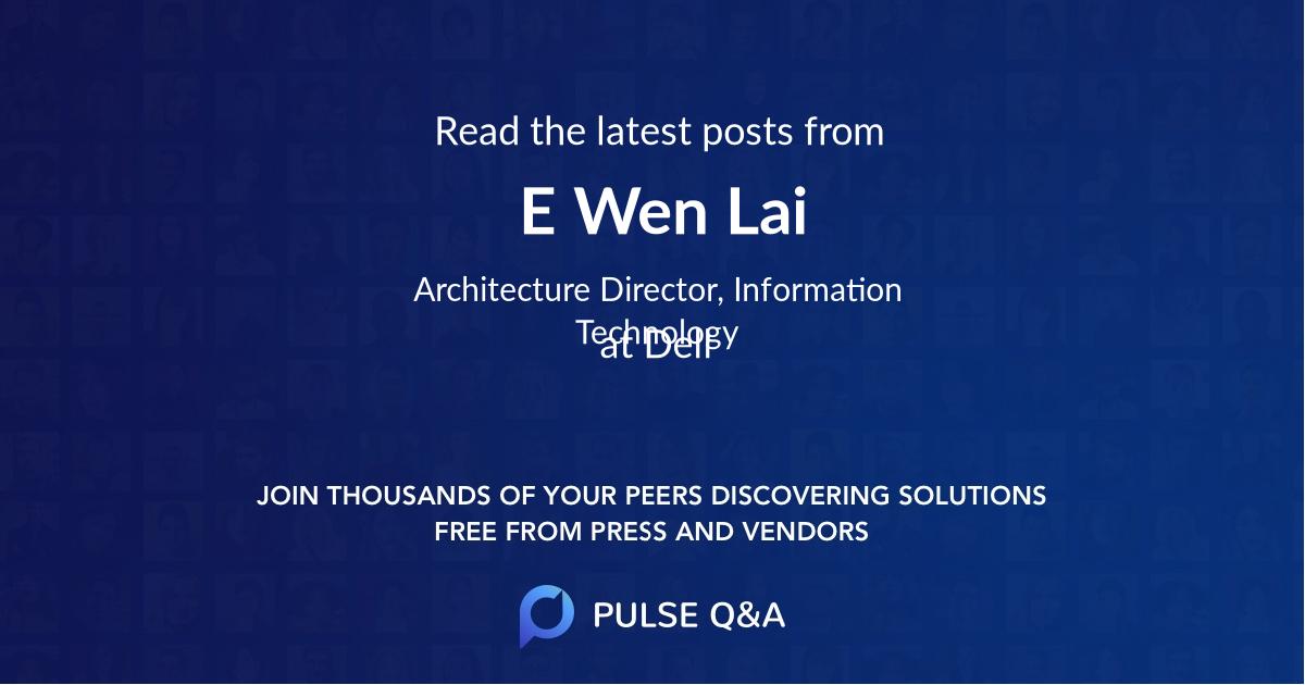 E Wen Lai