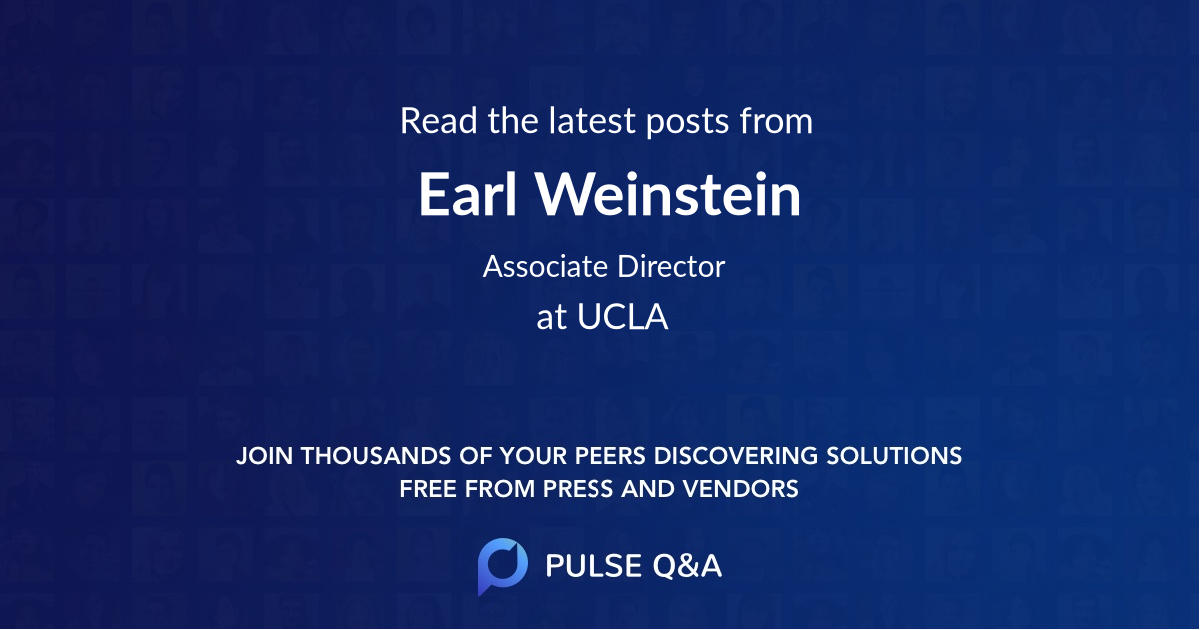 Earl Weinstein