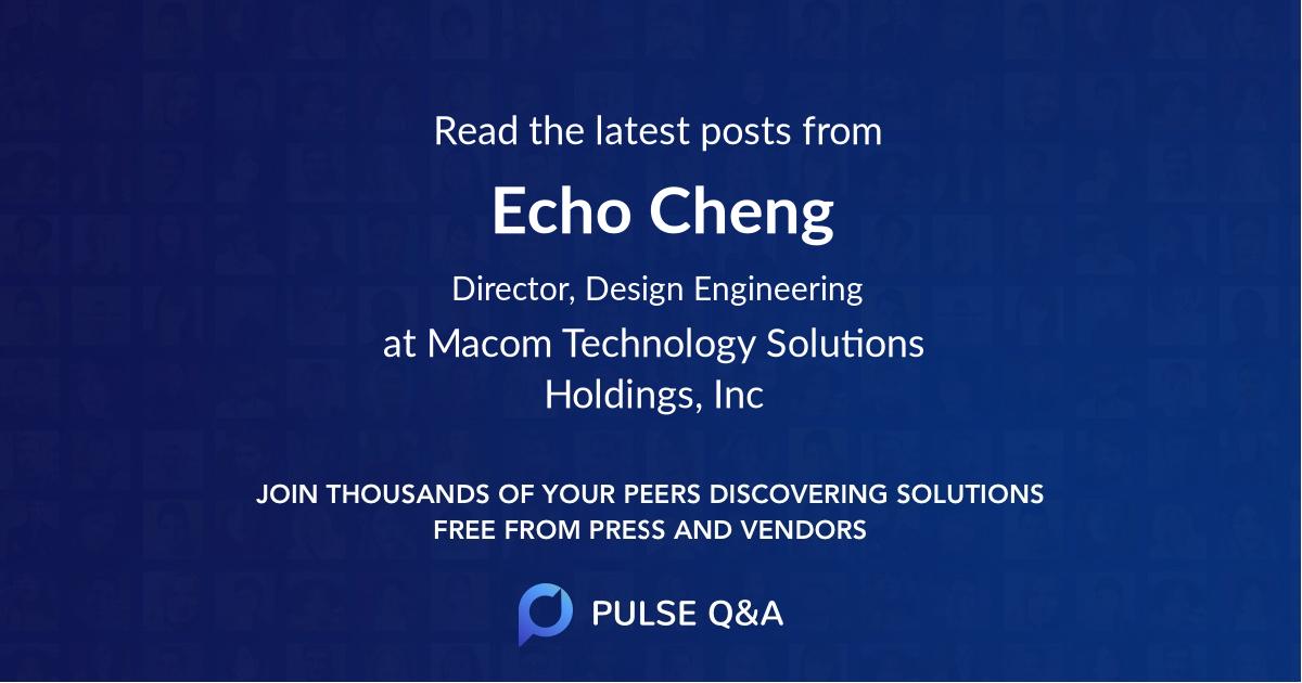 Echo Cheng
