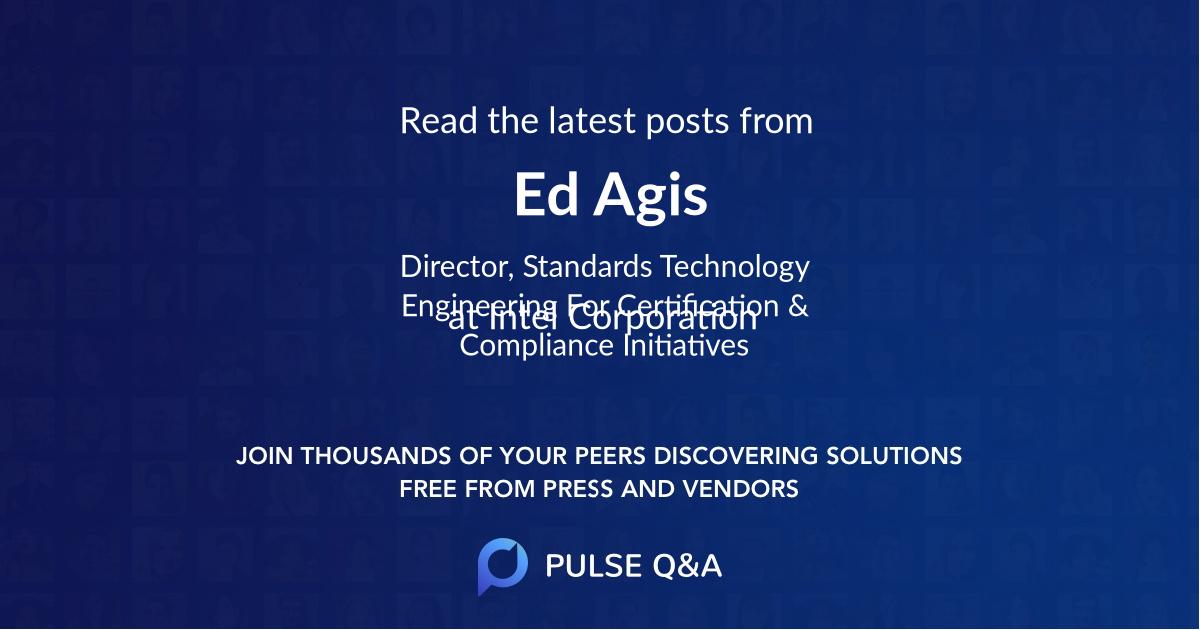 Ed Agis