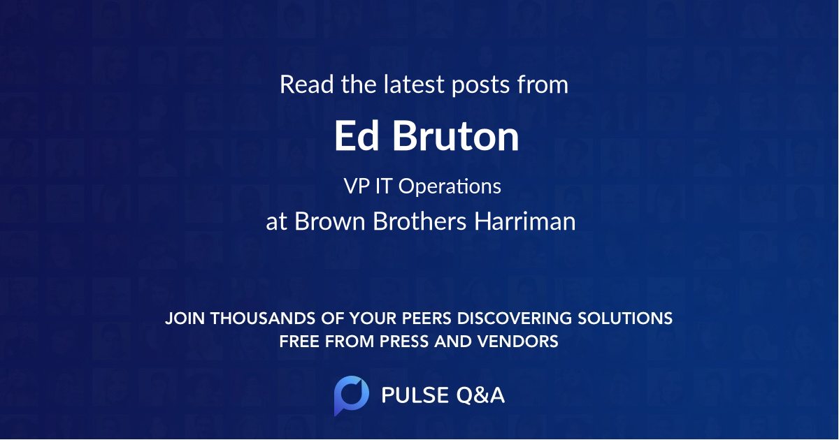 Ed Bruton