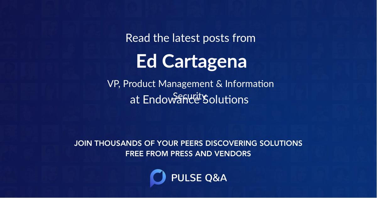 Ed Cartagena