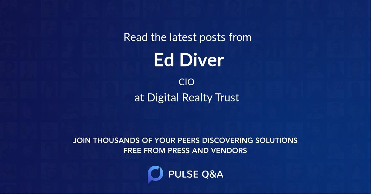 Ed Diver