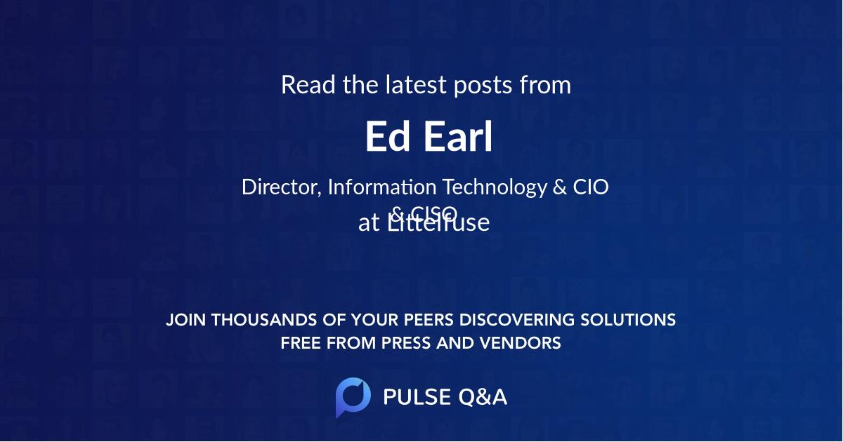 Ed Earl