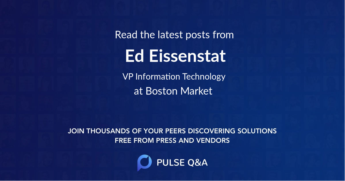Ed Eissenstat