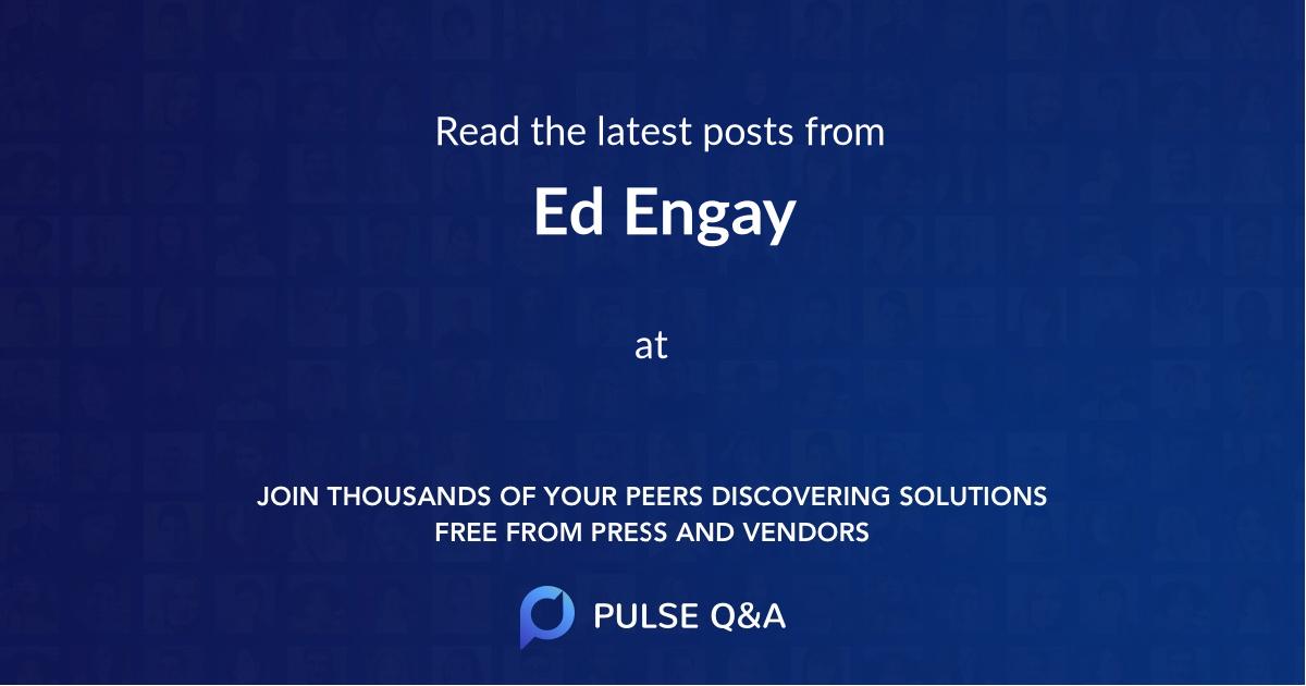 Ed Engay