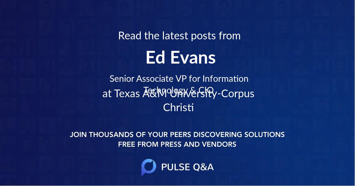 Ed Evans