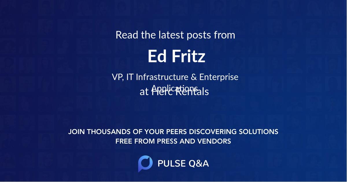 Ed Fritz