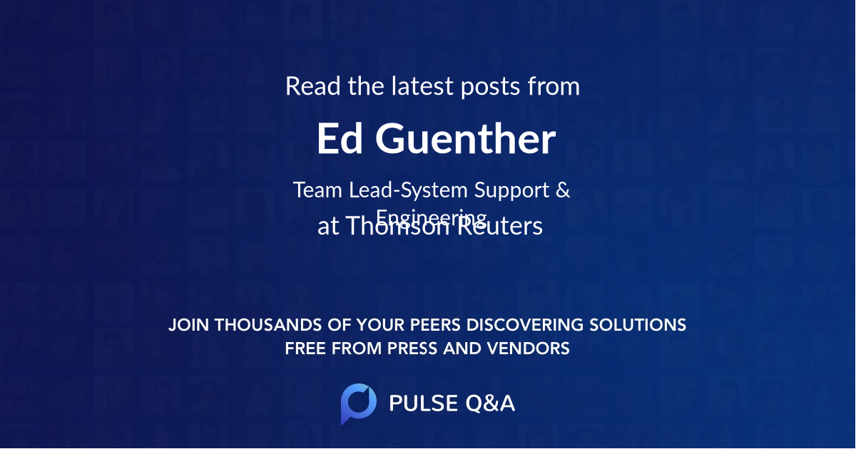 Ed Guenther
