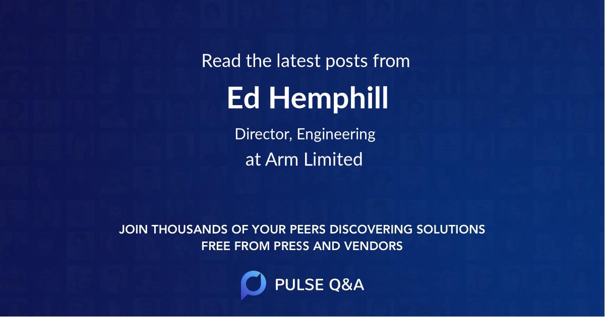 Ed Hemphill