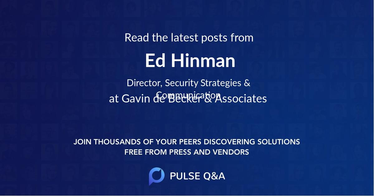 Ed Hinman