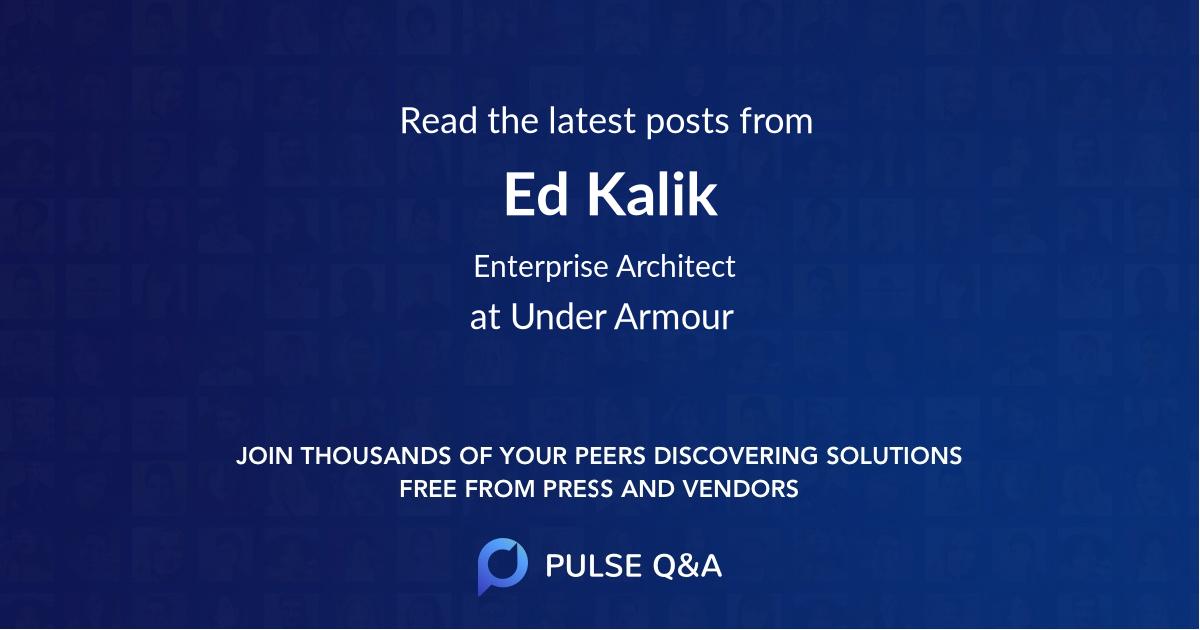 Ed Kalik