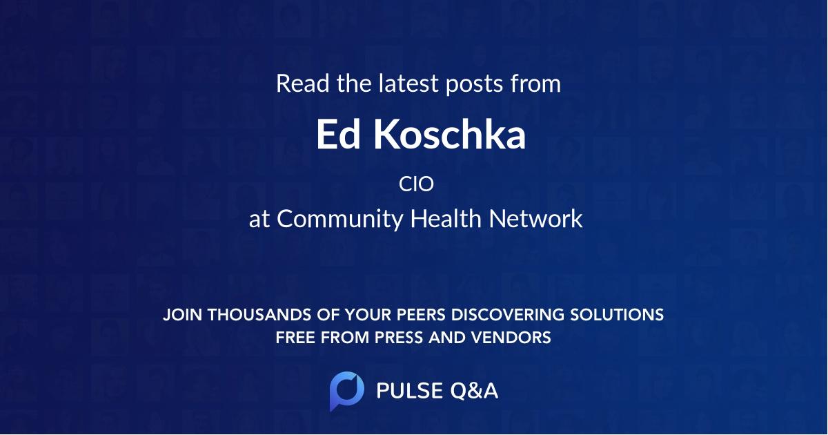 Ed Koschka