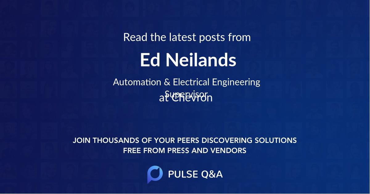 Ed Neilands