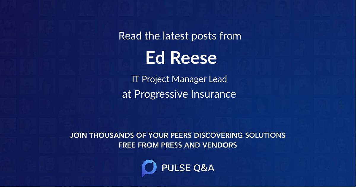 Ed Reese